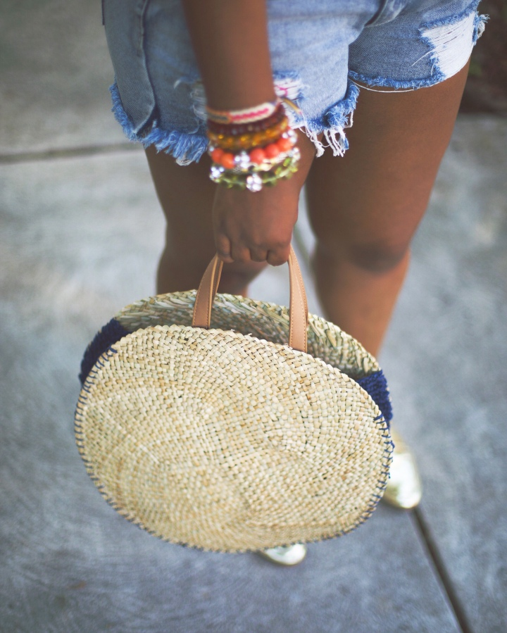 The Perfect Woven Tote